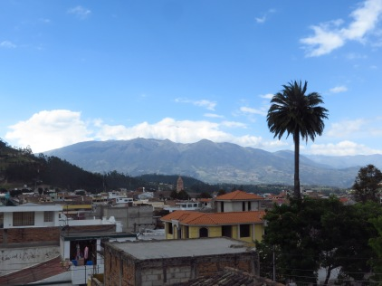 The view from Hostal Chasqui
