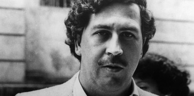 Pablo Escobar. Sadly not my photo, thanks Huff Post.